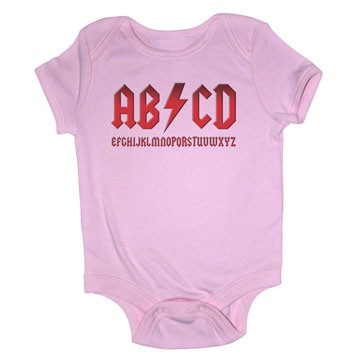 Girl's ABCD Onesie