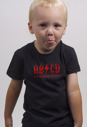 Boy's ABCD Toddler T-Shirt