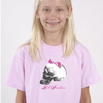 Girl's Skull T-Shirt