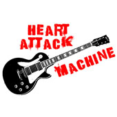 Girl's Heart Attack Machine T-Shirt