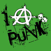 I Anarchy Punk Baby Boy T-Shirt