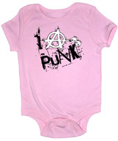 I Anarchy Punk Girl Onesie