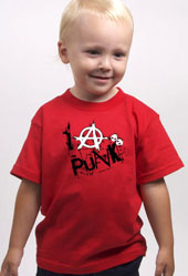 I Anarchy Punk Boys Toddler T-Shirt