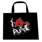 I Anarchy Punk Tote Bag
