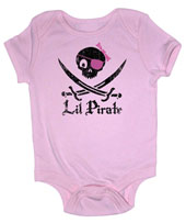 Lil Pirate Girl Onesie