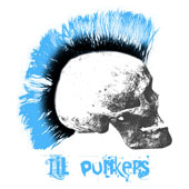 Boys Mohawk Skull Toddler T-Shirt