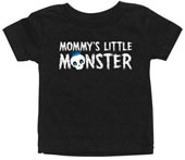 Mommy's Little Monster Baby Boys T-Shirt