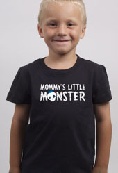 Mommy's Little Monster Toddler Boys T-Shirt