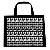 Skull Pattern Tote Bag