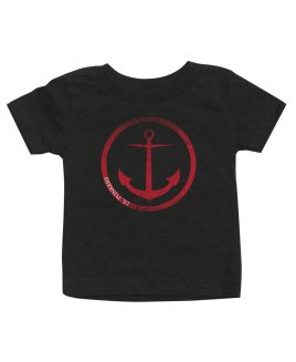 anchors-away-black-baby-shirt