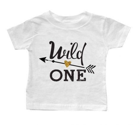wild-one-Arrow-White-Baby-Tee