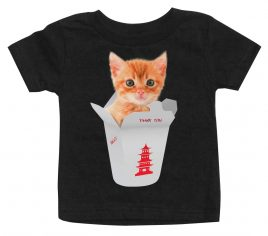 kittens-chinese-take-out-black-baby-shirt